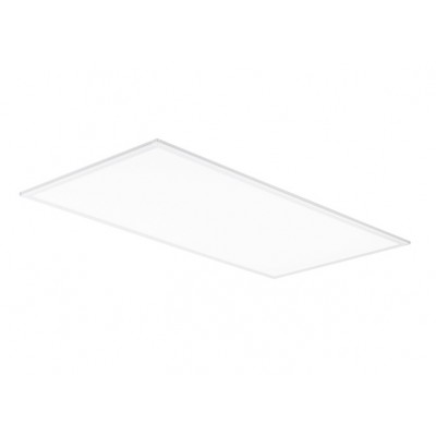 50W LED 2ft x 4ft Flat Panel Fixture 5000K Daylight DLC UL 5500 Lumens