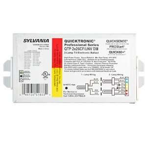 Sylvania Quicktronic 4-Pin CFL 2-Lamp Ballasts 51833