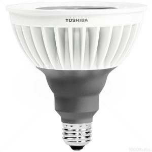 16W Toshiba PAR38 LED 3000K Warm White Flood 16P38/30KFL-T