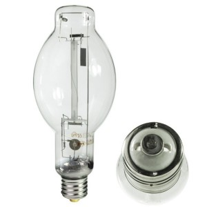 Eye 62443 220W HPS Conversion Lamp BT28 CLEAR E39 BASE 2100K NH220CE/EN