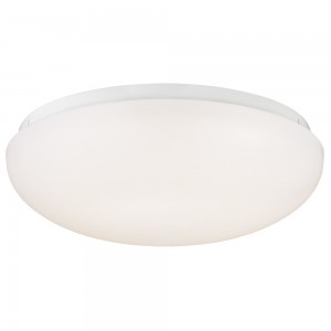 Westinghouse 6401100 LED Indoor Flush Mount Ceiling Fixture with Acrylic Shade, White Finish
