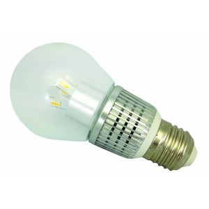 DLU Lighting 7W A19 Decorative LED E26 Base 2700K Dimmable FLLS5830C-R