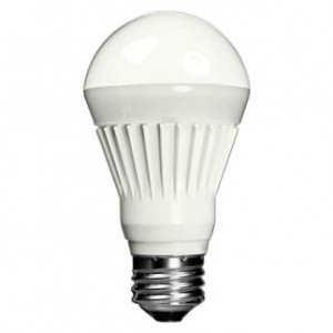 7.7 W Toshiba Non-Dimmable A19 LED 2700K Warm White 8A19/27FZ-UP