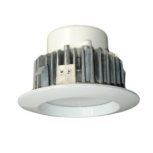 "DLU 9W LED Fixed Recessed Downlight 4"" for Retrofit Aluminum Body FLLD723AE-R"