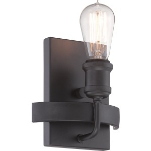 Nuvo Lighting 60/5721 Paxton - 1 Light Wall Sconce Includes 40W A19 Vintage Lamp