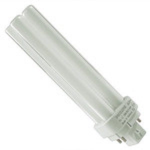 PHILIPS 4-pin 18W CFL Compact Flourescent GX24q-2 Base 4100k coolwhite