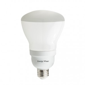 15W BULBRITE Dimmable Reflector R30 CFL E26 Base 2700K Warm White CF15R30WW/DM