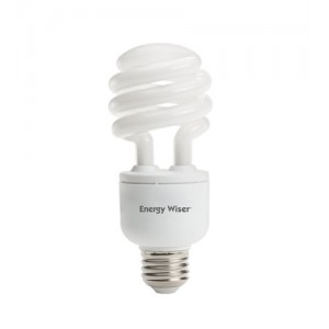 18W BULBRITE Dimmable T3 CFL Spiral E26 Base 2700K Warm White CF18C/WW/DM