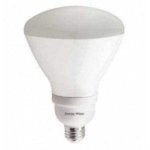 23W BULBRITE Dimmable Reflector R40 CFL E26 Base 2700K Warm White CF23R40WW/DM