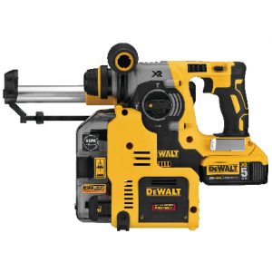 DeWalt DCH273P2DHO 20-Volt MAX Lithium-Ion Cordless 1 in. SDS-Plus Brushless L-Shape Concrete & Masonry Rotary Hammer (Tool-Only)
