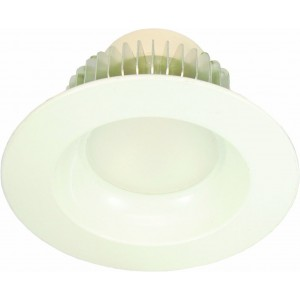 "15W LGX LIGHTING LED Fixed Recessed Downlighter 6"" for retrofit aluminum body"