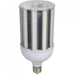 100W Eiko LED Post Top / High Bay Retrofit Corn Light Bulb 4000K 120-277V