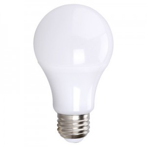 EIKO 08880 7W LED Advantage A19 Light Bulb 240 Degree Beam - 420 lumens, non-dimmable, 3000K, 80+CRI, 120VAC E26