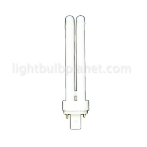 26W PL Compact Fluorescent 2 pin 2 tube 4100K Cool White G24d-3 Base