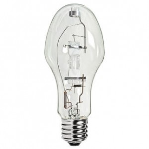 GE 47760 175W Multi-Vapor Metal Halide ED28 Mogul Base 4000K Cool White MVR175/U