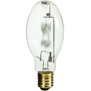 GE 18904 400W Multi-Vapor Reduced Envelope Metal Halide ED28 Mogul Base 4000K Cool White MVR400/U/ED28