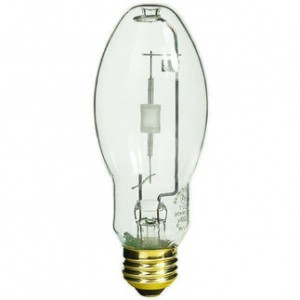 GE 22119 70W ConstantColor - Pulse Start Metal Halide BD17 Medium Base 3000K Warm White CMH70/U/830/MED