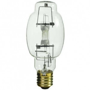 GE 40335 400W Multi-Vapor Metal Halide BT28 Mogul Base 4000K Cool White MVR400/VBUED28HO