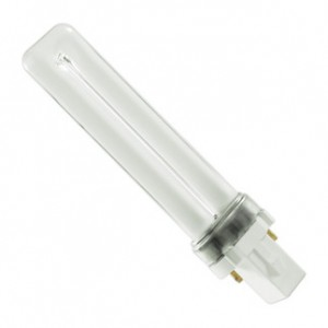 7W GE 2-pin Compact Fluorescent 3500K G23 Base F7BX/SPX35