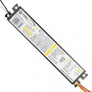 GE UltraStart 32W T8 linear Fluorescent 4-Lamp Ballasts  74476