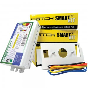 HATCH 18W 4-pin 1 or 2-lamp Electronic Ballast 120/277V Kit HC218PS/UV/K