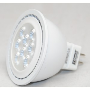 7W Topaz Dimmable LED MR16 | LM16/7/850/FL/D | Replacement for 50W Halogen | 25,000 Hour life | 5000k by Topaz