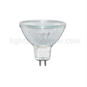20W MR16 60 Degree Wide Flood With Covered Glass Face
