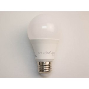 NaturaLED 4523 LED5A19/45L/930 5W A19 LED, E26 Base, 450 lumens, 40W equivalent, 3000K, Dimmable, 90CRI, 25000 Hours