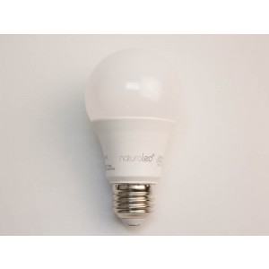 NaturaLED 4527 LED9A19/81L/950 9W A19 LED, E26 Base, 810 lumens, 60W equivalent, 5000K, Dimmable, 90CRI, 25000 Hours
