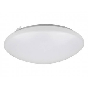 "NaturaLED 7146: 22W Flush Mount - FMR Round, 1,672 lumens, 3000K, 16"", 150W equivalent, Flood Beam Spread , White, Dimmable, Damp, ES, 50,000 Hours"