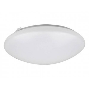 "NaturaLED 7157: 22W Flush Mount - FMR Round, 1,672 lumens, 5000K, 16"", 150W equivalent,Flood Beam Spread, White, Dimmable, Damp, ES, 50,000 Hours"
