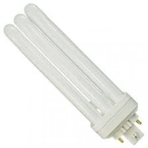 PHILIPS 4-pin 42W CFL Compact Flourescent GX24q-4 Base 4100k cool white PL-T 42W/841/4P/ALTO