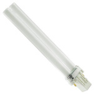 PHILIPS 2-pin 13W CFL Compact Flourescent GX23 Base 3500k PL-S 13W/835