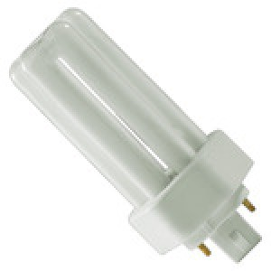 PHILIPS 4-pin 18W CFL Compact Flourescent GX24q-2 Base 4100k coolwhite PL-T18W/841/ALTO
