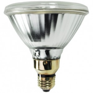 100W Philips MasterColor Pulse Start PAR38 Metal Halide Spot 3000K Warm White CDM100/PAR38/SP/3K ALTO