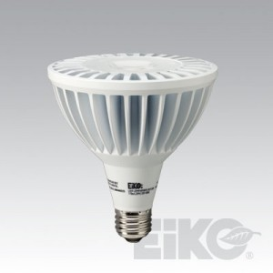 EIKO 20W GEN3 PAR38 Power LED E26 Base 3000K Dimmable LEDP-20WPAR38/FL/830-DIM