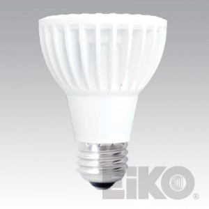 EIKO 8W PAR20 LED Light Bulb FLOOD 3000K LEDP-8WPAR20/FL/830-DIM