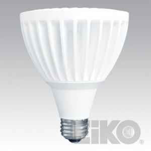 EIKO 13W PAR30 LED Light Bulb FLOOD 3000K LEDP-13WPAR30/FL/830-DIM
