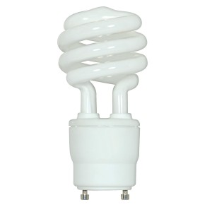 Plusrite 23W Mini Twist GU24 Base 2700K Warm White CFL