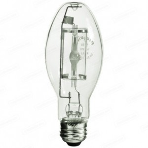 Sylvania 64733 175W Metal Arc Metal Halide ED17 Medium Base 3600K MP175/BU-ONLY/MED