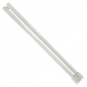 36W Sylvania Long Single CFL Fluorescent 3000K Warm White 2G11 Base FT36DL/830/ECO