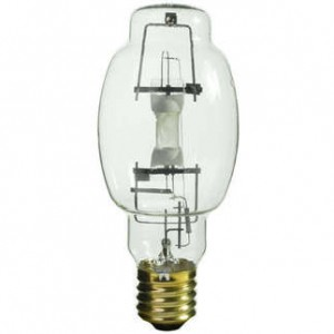 Sylvania 64443 400W Metal Arc Metal Halide BT28 Mougal (E39) Base 4200K Cool White MS400/HOR/BT28