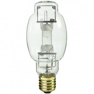 Sylvania 64488 400W Metal Arc Metal Halide BT28 Mougal (E39) Base 4000K Cool White M400/U/BT28