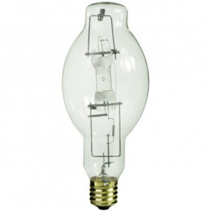 Sylvania 64450 400W Metal Arc Metal Halide BT37 Mogul Base 4000K Cool White MS400/BU-ONLY
