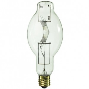 Sylvania 64445 400W Metal Arc Metal Halide BT37 Mogul Base 4200K Cool White MS400/HOR