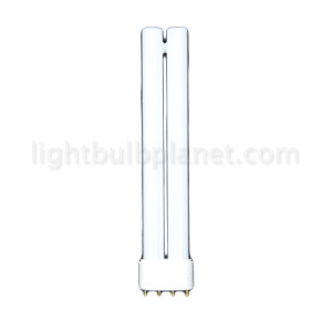 55W PLL Biax Compact Fluorescent 3000 Soft White 2G11 4-Pin Base