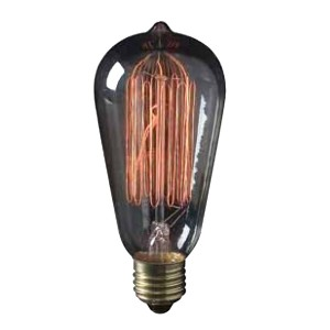 30W S21 Vintage Incandescent Light Bulb 120V L2780