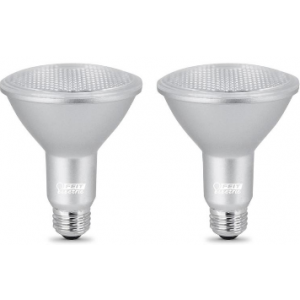 Feit 8.3W PAR30 Dimmable Long Neck, 5000K, 750LM, 40°,120V; PAR30LDM/950CA/2 - 2PK