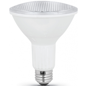 Feit 10w Dimmable PAR30, 3000K, 750LM, E26(Medium), 120V; PAR30L/ADJ/930CA