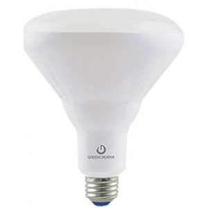 Green Creative 9w BR30 LED Dimmable, 4000K, 650LM, 120°, E26 Base; 9BR30DIM/840